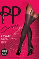Колготки Pretty Polly Curves suspender